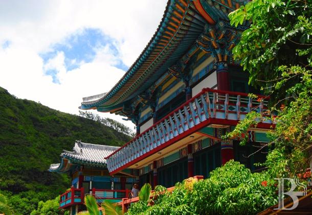 The Mu Ryang Sa Temple in Palolo.